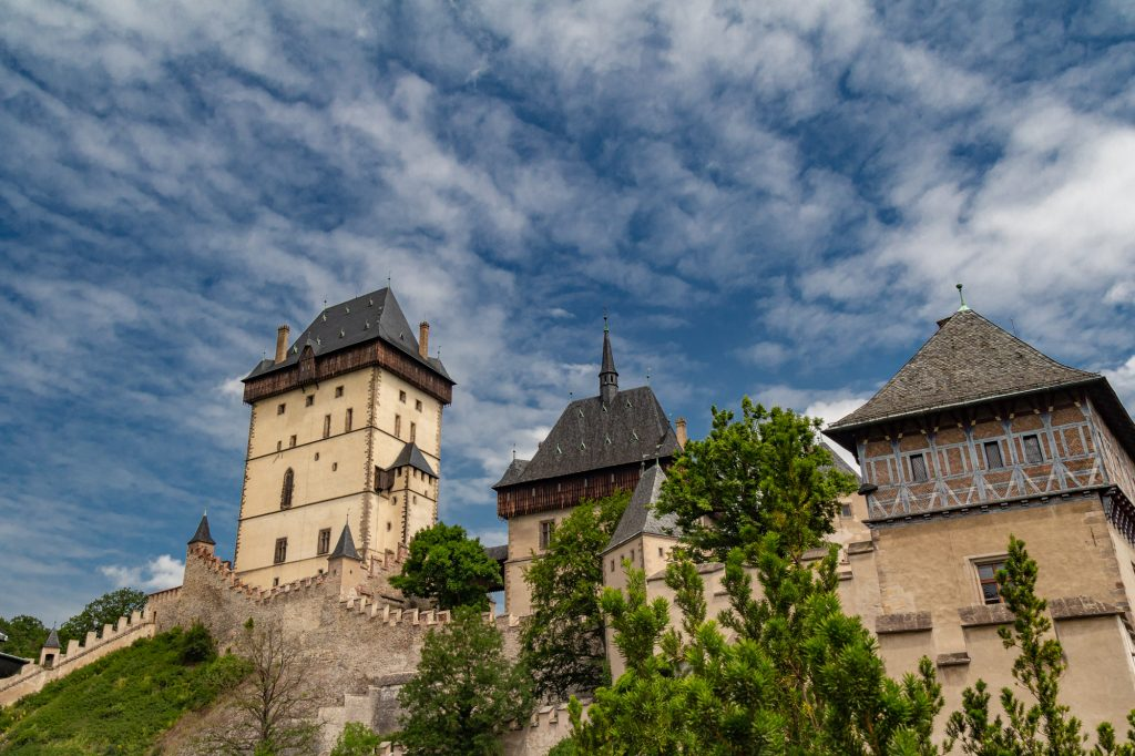 Karlstej Castle in the Czech Republic