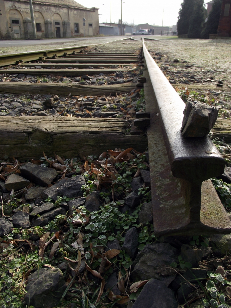 Terezín Ghetto - railway tracks