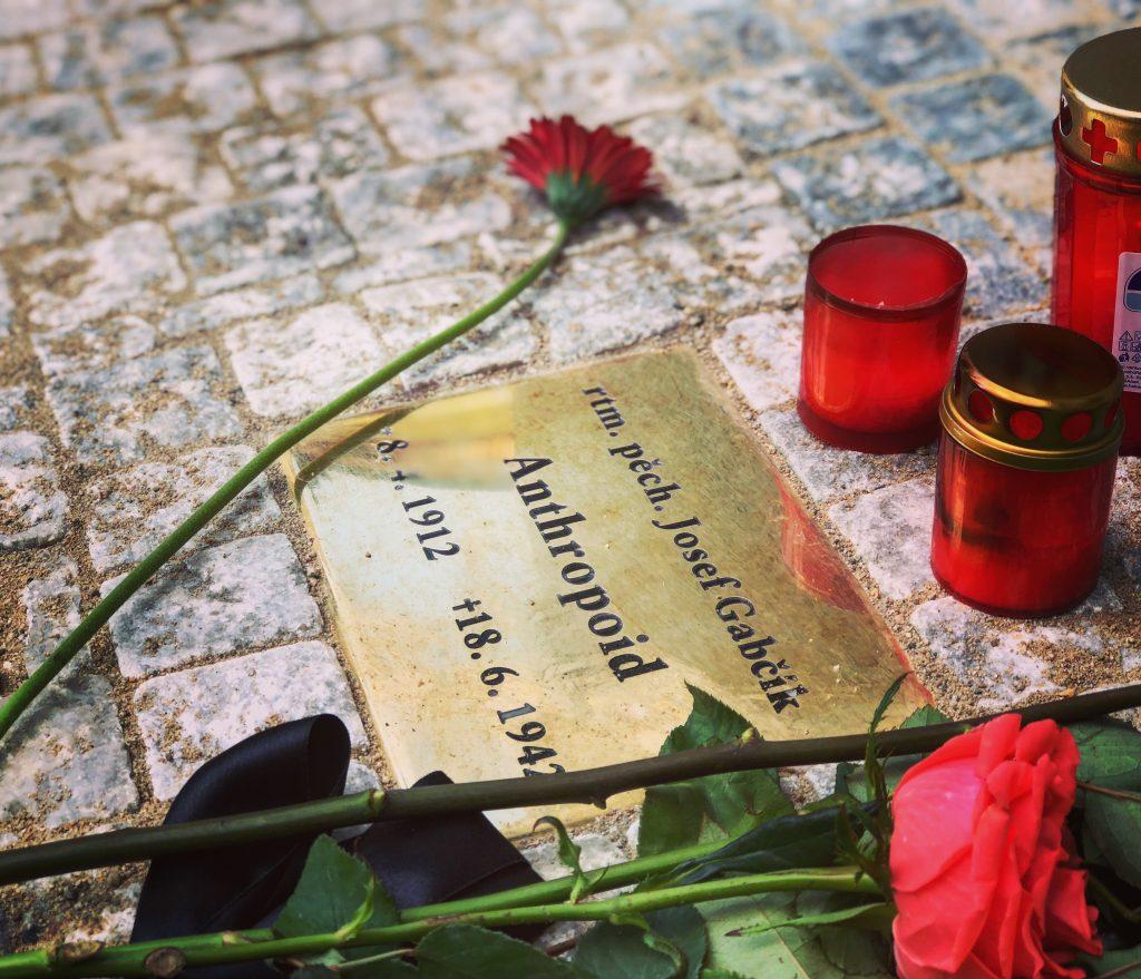 Phooto of Anthropid location taken during World War Two in Prague Tour